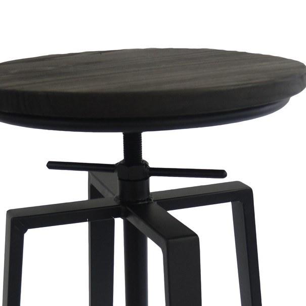 Barová židle ARBA 2 černá 2