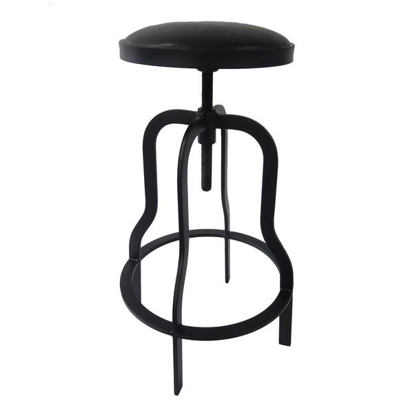 Barová židle ARBA černá 1
