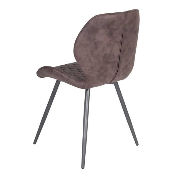 Jedálenská stolička AURORA S vintage hnedá 2