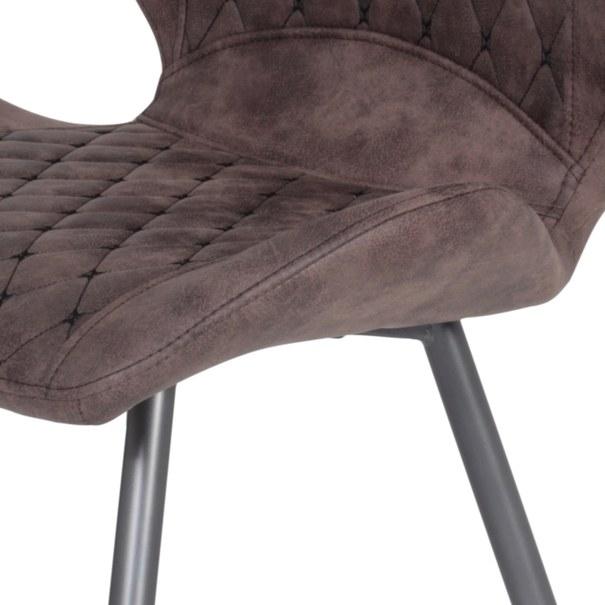 Jedálenská stolička AURORA S vintage hnedá 5