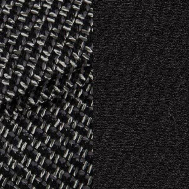 Taburet AVENUE černo-šedá 2