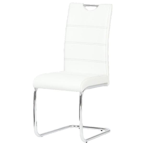 Jedálenská stolička AZALEA biela 1