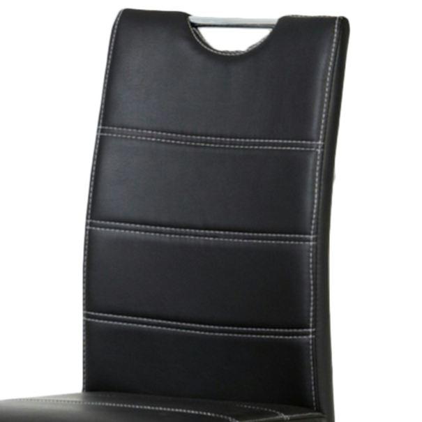 Jídelní židle AZALEA černá 2