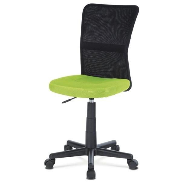 Kancelářská židle BAMBI zelená/černá 1