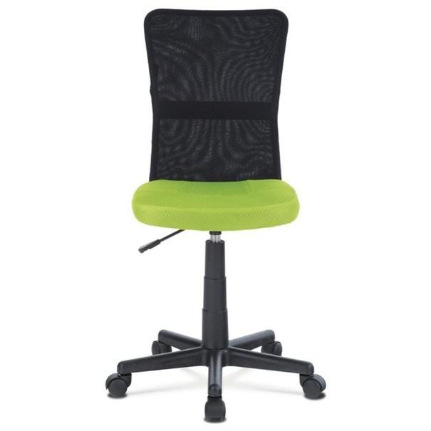 Kancelářská židle BAMBI zelená/černá 2