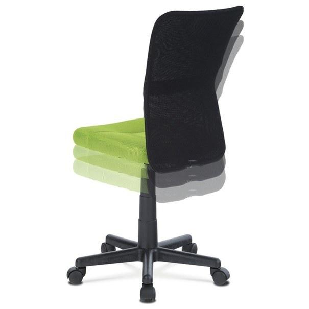 Kancelářská židle BAMBI zelená/černá 6