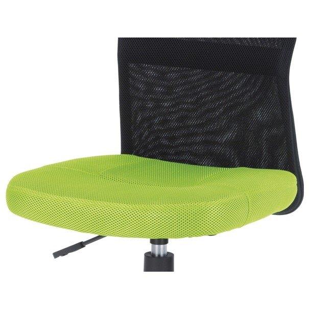 Kancelářská židle BAMBI zelená/černá 8