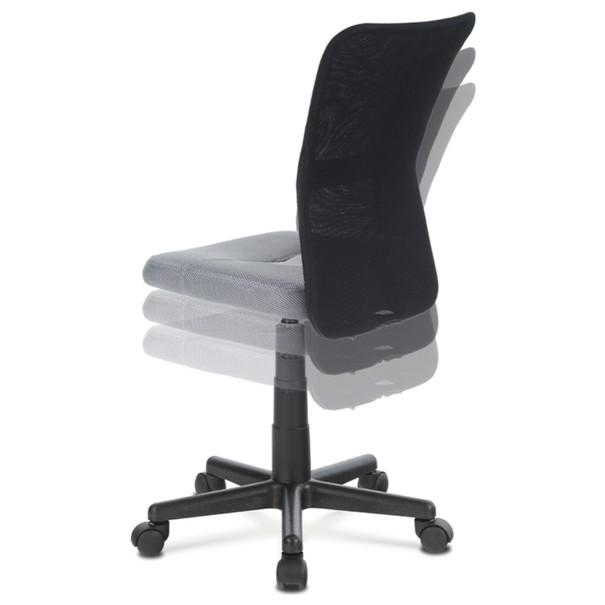 Kancelářská židle BAMBI šedo/černá 6
