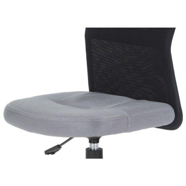 Kancelářská židle BAMBI šedo/černá 8