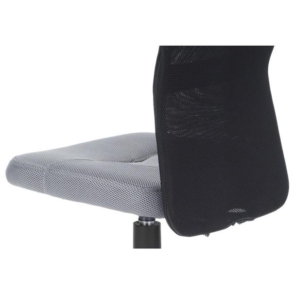 Kancelářská židle BAMBI šedo/černá 9