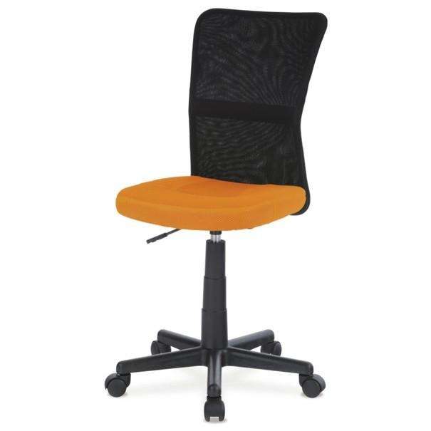 Kancelářská židle BAMBI oranžová/černá 1