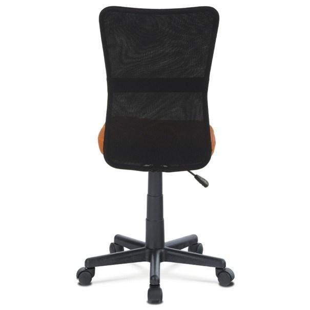 Kancelářská židle BAMBI oranžová/černá 5