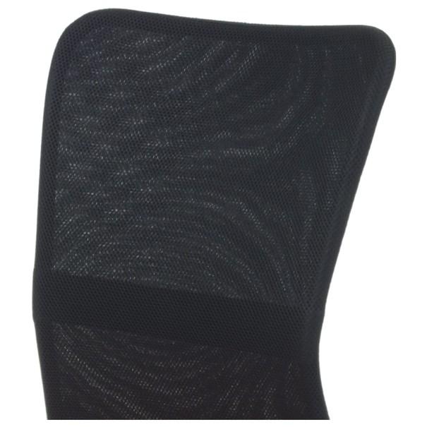 Kancelářská židle BAMBI oranžová/černá 7