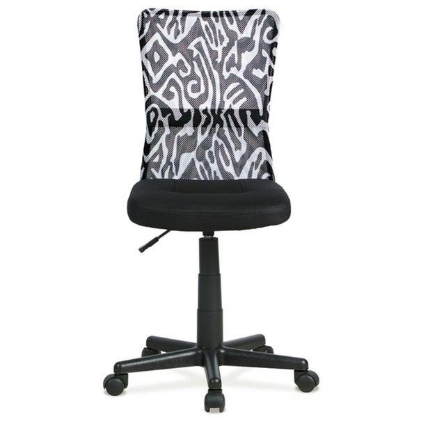 Kancelářská židle BAMBI černá s motivem 2