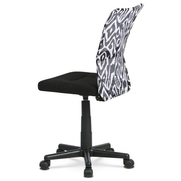 Kancelářská židle BAMBI černá s motivem 4