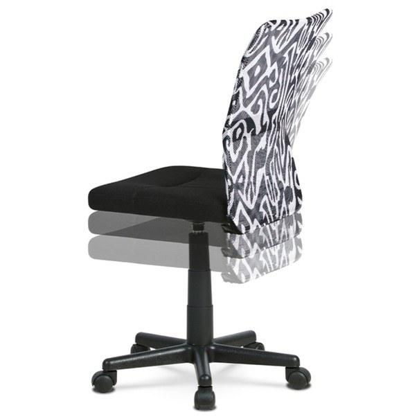 Kancelářská židle BAMBI černá s motivem 5