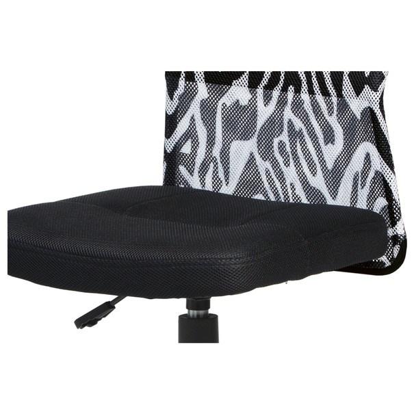 Kancelářská židle BAMBI černá s motivem 7