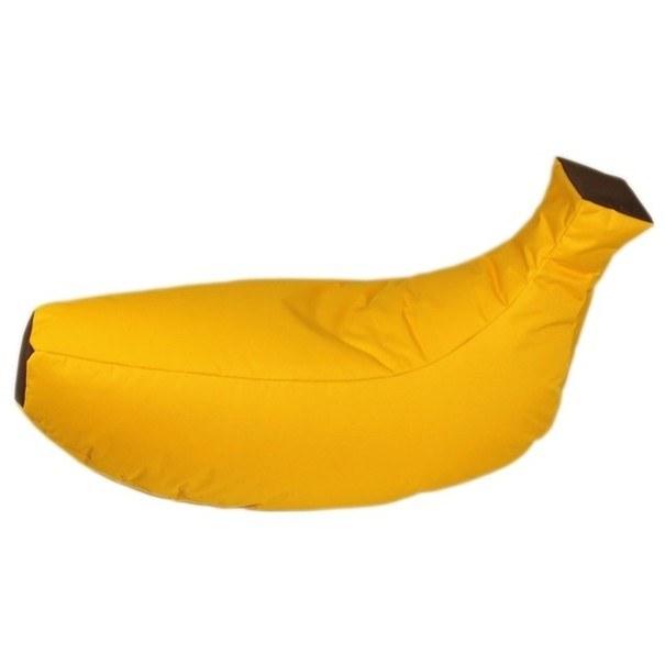 Sedací pytel BANÁN žlutá 1