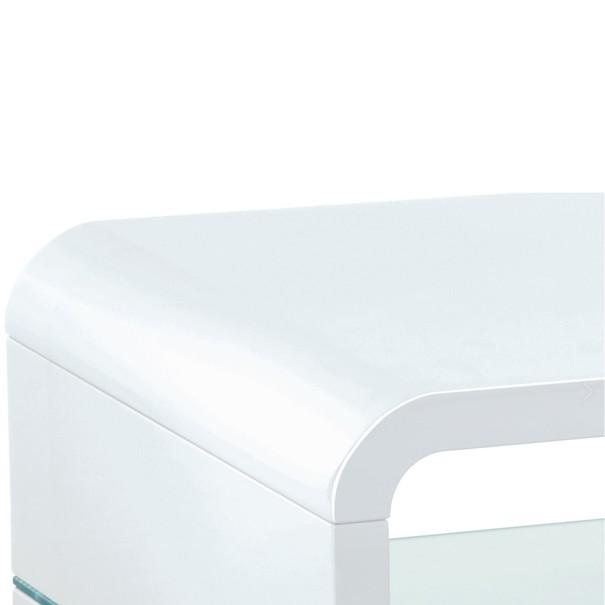 Konferenční stolek BARCELONA bílá 2