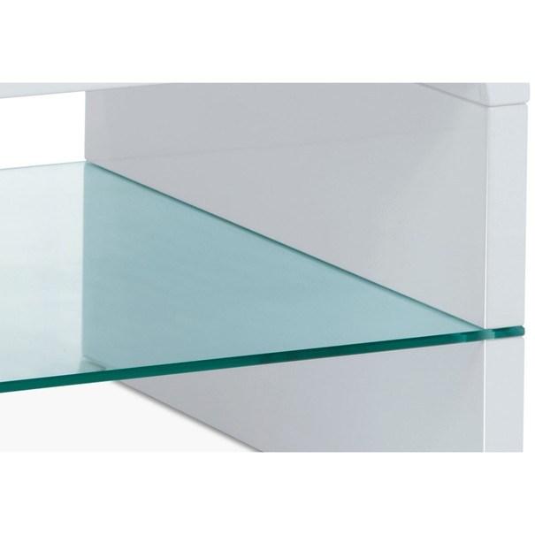 Konferenční stolek BARCELONA bílá 3