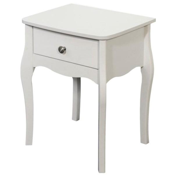 Noční stolek BAROQUE 001/58 bílá 1