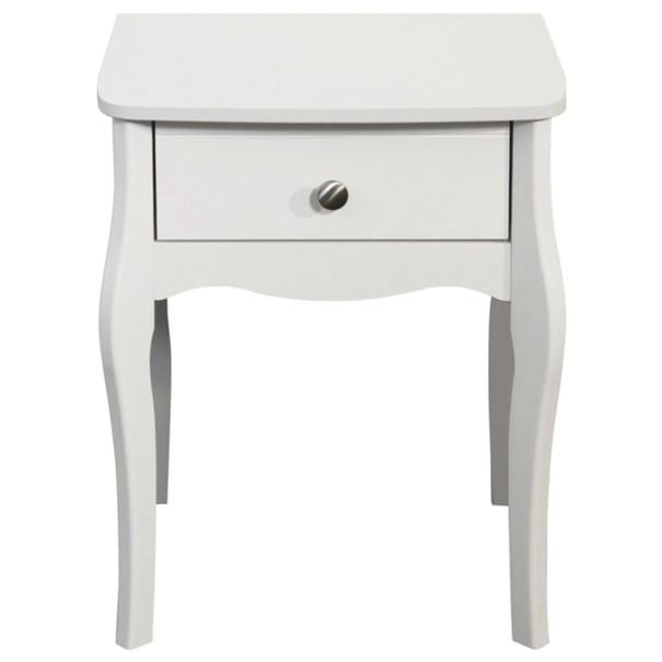 Noční stolek BAROQUE 001/58 bílá 2