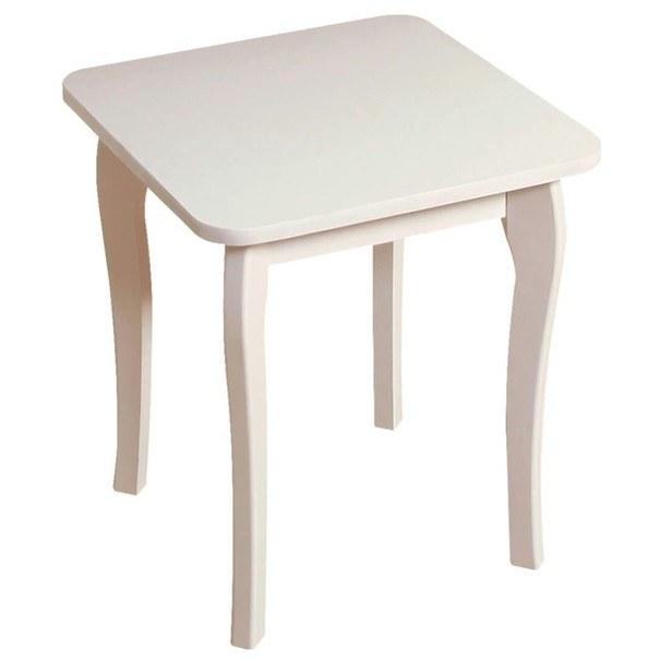 Stolička BAROQUE bílá 1