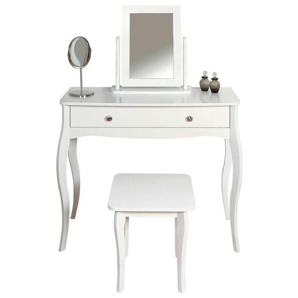 Stolička BAROQUE bílá 2