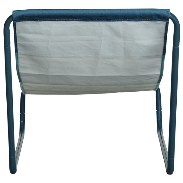 Plážová židle BEACH  modrá/tyrkysová/bílá 5