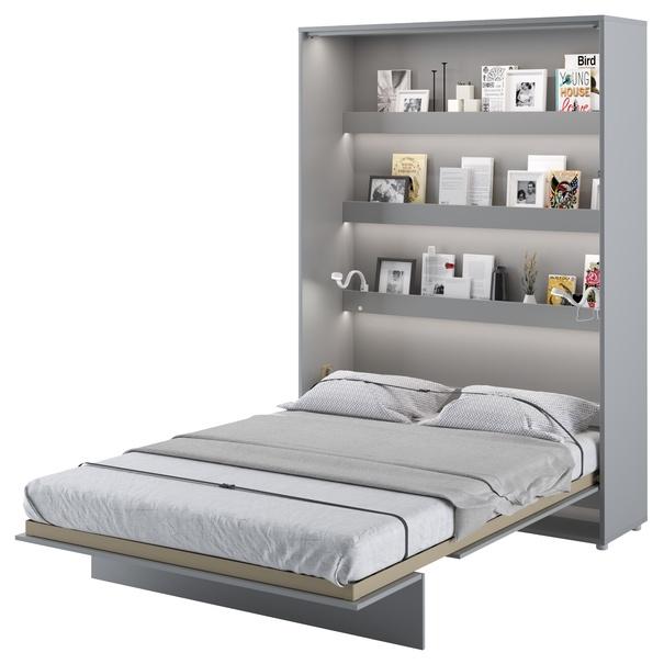 Postel BED CONCEPT 1 šedá, 140x200 cm 2