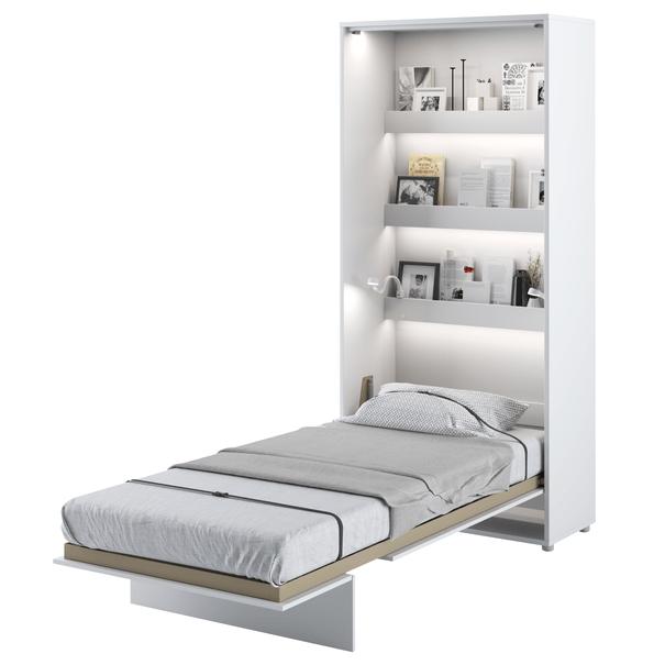 Postel BED CONCEPT 3 bílá, 90x200 cm 2