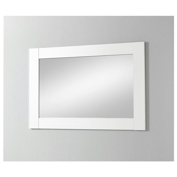 Zrcadlo  BELFORT 3 bílá 1