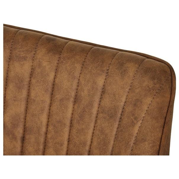 Jídelní židle BENITO cognac 8