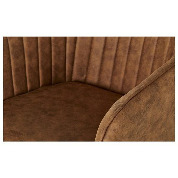 Jídelní židle BENITO cognac 9