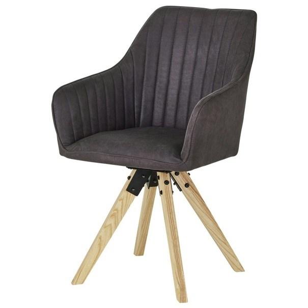 Jídelní židle BENITO šedá 1