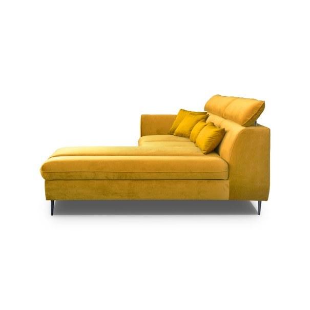 Sedací souprava BENO pravá, žlutá 3
