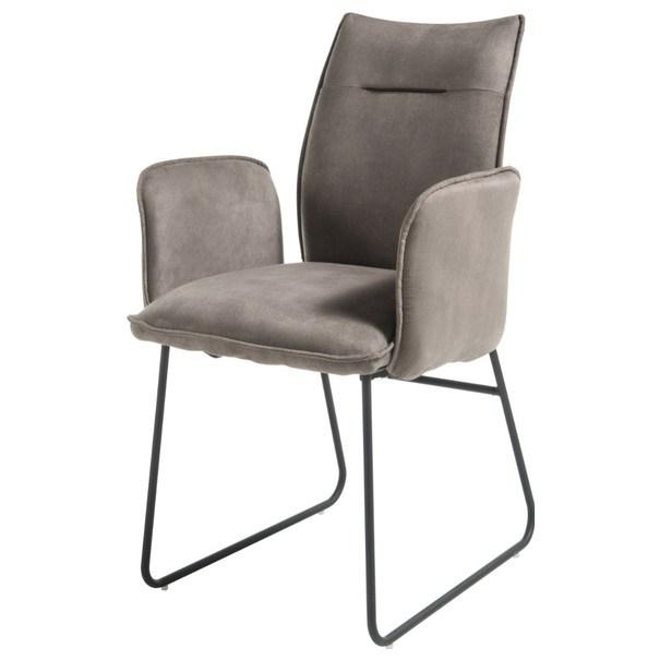 Jedálenská stolička BETTY 2 sivá 1