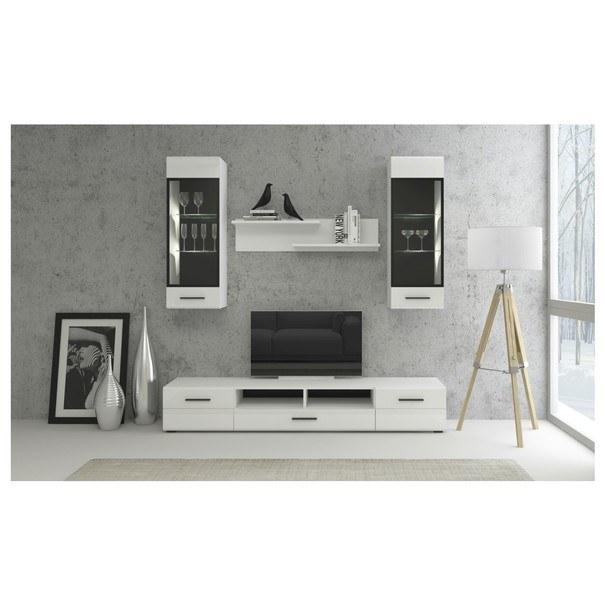 TV stolík BIANCO 1 biela 3