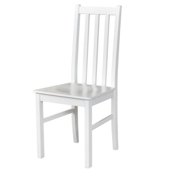 Sconto Jídelní židle BOLS 10 D bílá - nábytek SCONTO nábytek.cz
