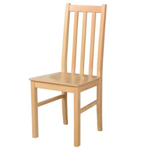 Sconto Jídelní židle BOLS 10 D dub grandson - nábytek SCONTO nábytek.cz