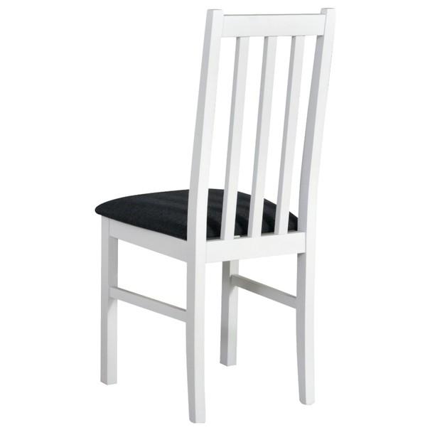 Jedálenská stolička BOLS 10 tmavosivá/biela 2