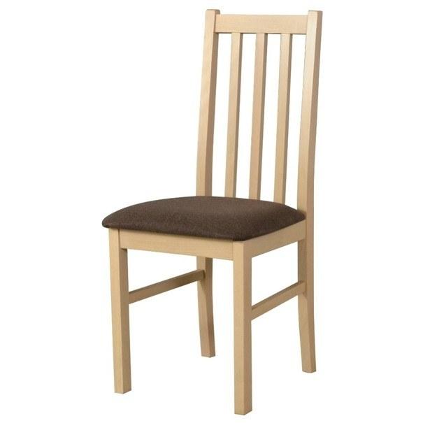 Jedálenská stolička BOLS 10 dub sonoma/hnedá 1
