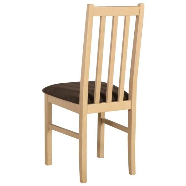 Jídelní židle BOLS 10 hnědá/dub sonoma 2