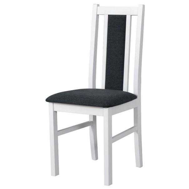 Jedálenská stolička BOLS 14 tmavosivá/biela 1