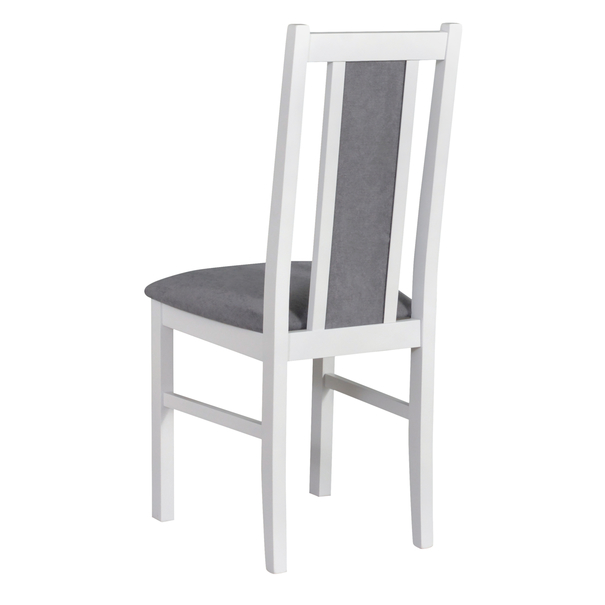 Jídelní židle BOLS 14 šedá/bílá 3
