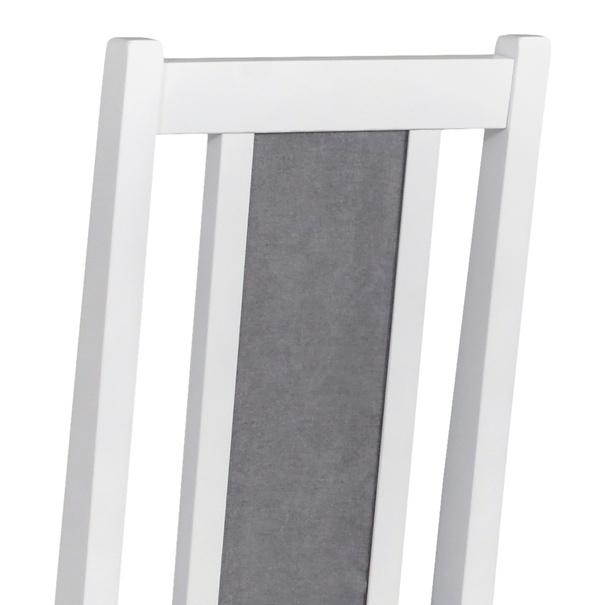 Jídelní židle BOLS 14 šedá/bílá 6