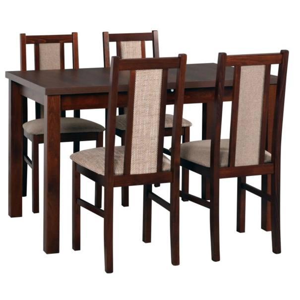 Jídelní židle BOLS 14 světle hnědá 2