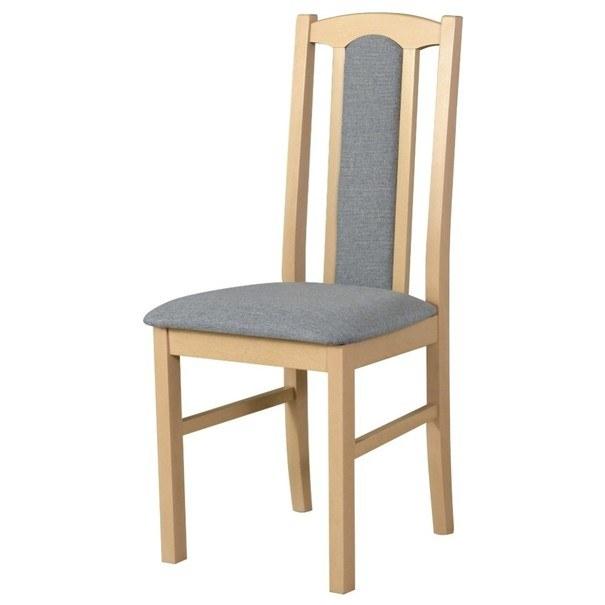 Jídelní židle BOLS 7 světle šedá 1
