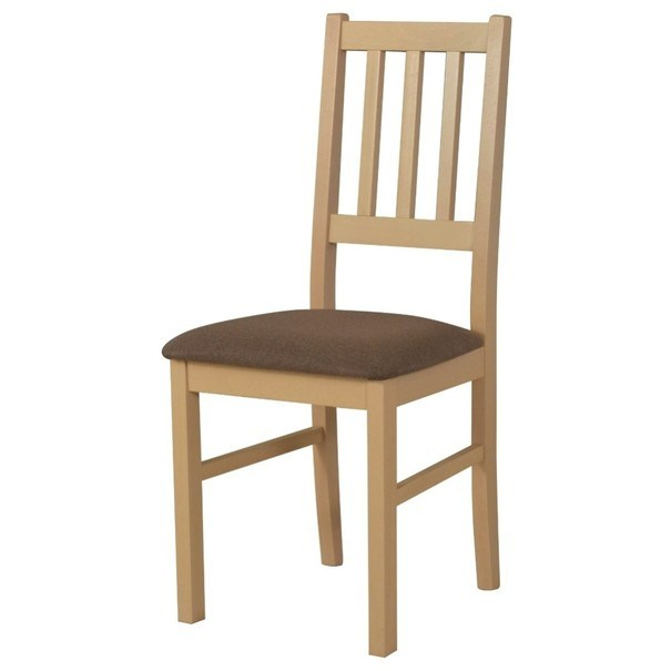 Jedálenská stolička BOLS dub sonoma/hnedá 1