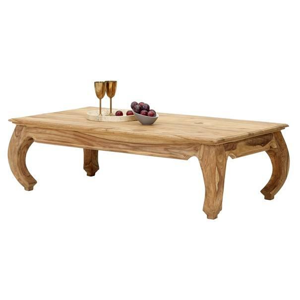 Konferenční stolek BOMBAY přírodní palisandr 1